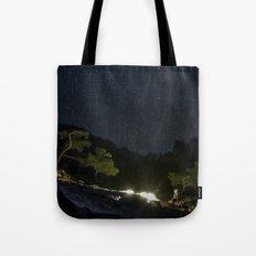 Chimaera and the Galaxy Tote Bag