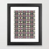 BatPattern Framed Art Print