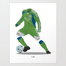 Seattle Sounders 2009/10 Art Print