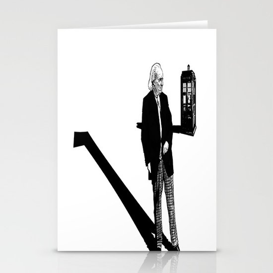 1rst Doctor... Stationery Card