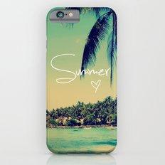 Summer Love Vintage Beach iPhone 6 Slim Case