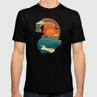 Cliffs Edge Mens Fitted Tee Black SMALL