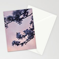 blossoms at dusk Stationery Cards