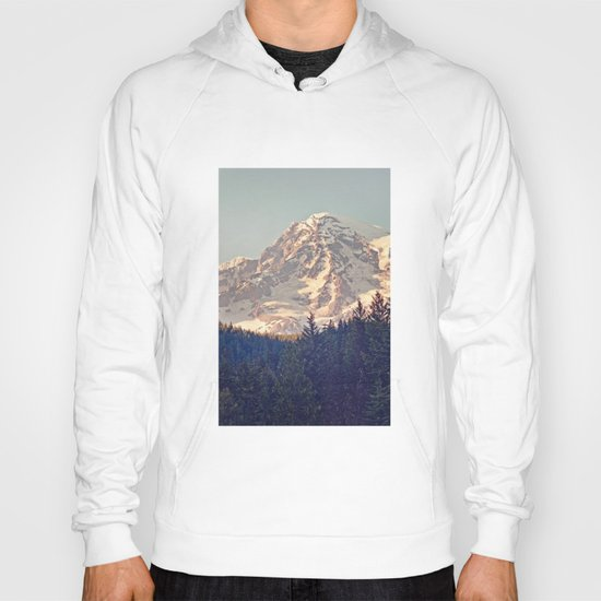 Mount Rainier Retro Hoody