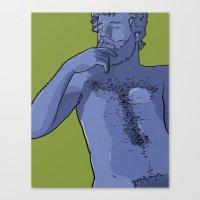 Carl Canvas Print