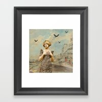 A Love Lost Framed Art Print