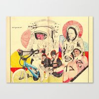 Spacemen Canvas Print