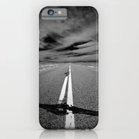 iPhone & iPod Case featuring the long road by Ryan Wyss