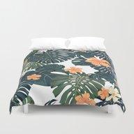 Tropical Retro Duvet Cover