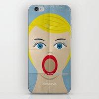 Deep Throat Minimal Post… iPhone & iPod Skin