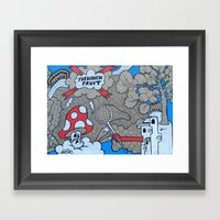 FF:Body Part III Framed Art Print