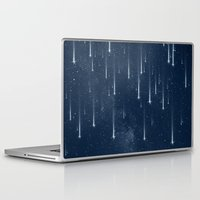 stars Laptop & iPad Skins featuring Wishing Stars by Paula Belle Flores