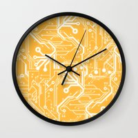 Phalanx  Wall Clock