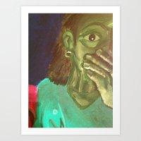NightHawks Art Print