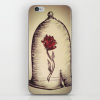 The Rose And The Bell iPhone & iPod Skin