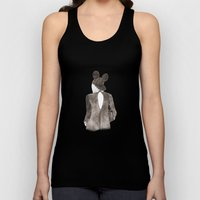 Black in Paris Unisex Tank Top