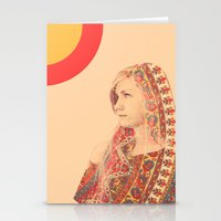 Tapestry (Double Exposure) Stationery Cards