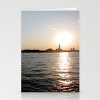 Sunset - Venice Stationery Cards