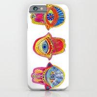iPhone & iPod Case featuring Hamsas by Meirav Gebler