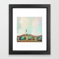 Summer Carousel Framed Art Print