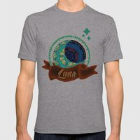 Luna Mens Fitted Tee Athletic Grey SMALL