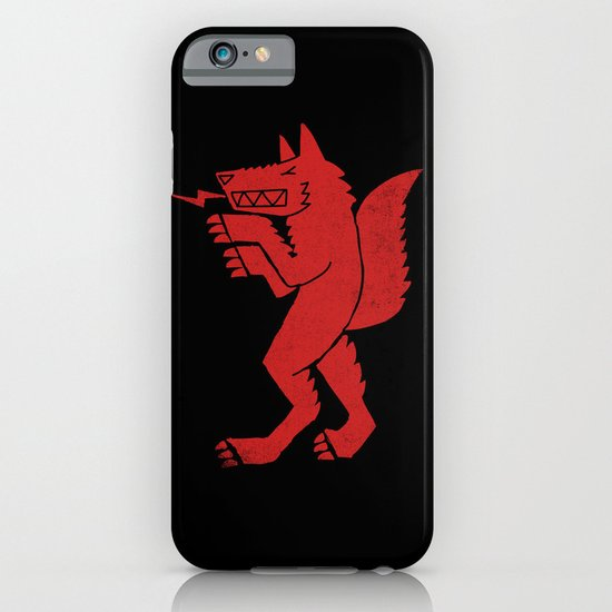 WEREWOLF, MAN WOLF iPhone & iPod Case