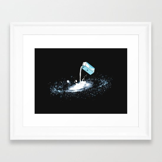 The Milky Way Framed Art Print