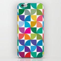 Geometrical work - Colours rotation iPhone & iPod Skin