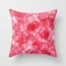 Celebrate with pink! Throw Pillow