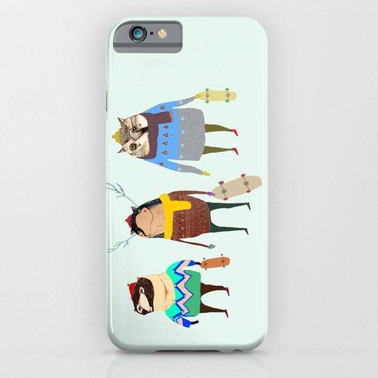 Skateboard Friends iPhone & iPod Case