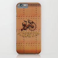 Steampunk Bike iPhone 6 Slim Case