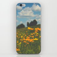 Dreaming In A Summer Fie… iPhone & iPod Skin