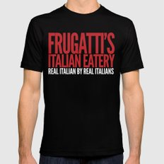 Frugatti's Black SMALL Mens Fitted Tee