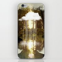 Brain Rain iPhone & iPod Skin