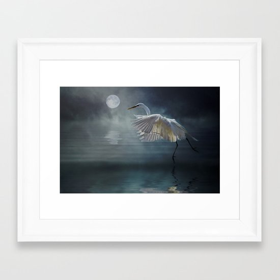 Moonlight Rhapsody Framed Art Print