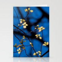 Leaves Of Spring Stationery Cards