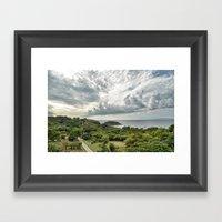 Costa Rica Pacific Framed Art Print