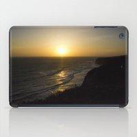 Cliff Top Sunset iPad Case