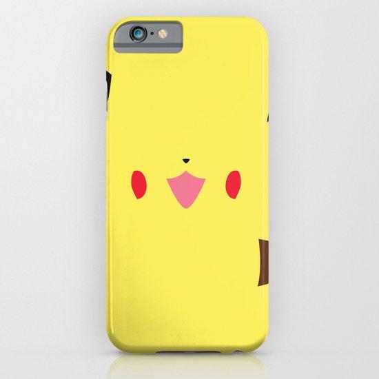 Pokemon - Pikachu Minimalist iPhone & iPod Case
