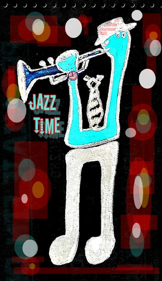 Jazz Time Art Print