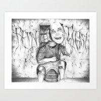 Facelift Art Print