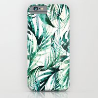 Green Tropical paradise  iPhone 6 Slim Case