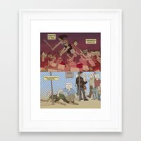 Reddit's Knights Of New Framed Art Print