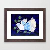 Peace Spirit Dove Framed Art Print
