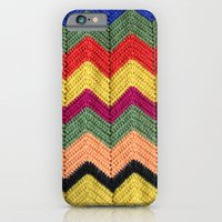 Rainbow Chevron Afghan iPhone 6 Slim Case