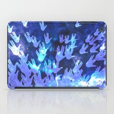 H.E.L.L.O. / blue version iPad Case