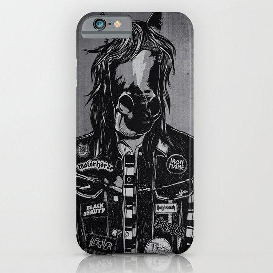 M E G A H O E R S E iPhone & iPod Case
