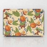 Botanical Oranges iPad Case