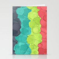 Paper Flowers In Bloom #… Stationery Cards