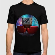 Television Mens Fitted Tee Black SMALL